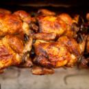 BBQ chicken on the run