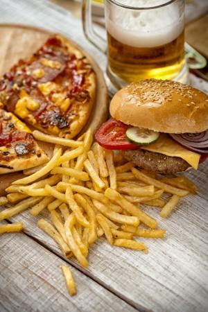 Huge portions of junk food - the 7 worst culprits